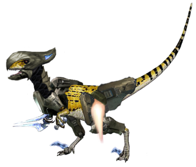 Utahraptor half armour