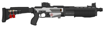 Pump shotgun, dino
