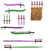 Many many blades