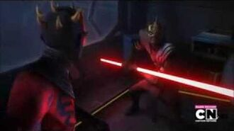 "Maul vs Savage ""Time for a lesson"""