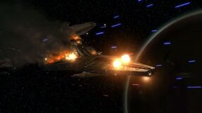 Resistance ships fire