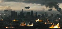 Chat destroys city