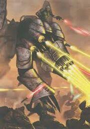 Ballistic war droid