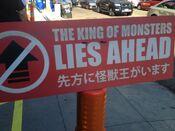 Encounter - Godzilla lies ahead