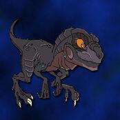 Baby Godzilla O by LyallTanith