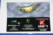 2! GODZILLA MOVIE CELL PROMOS (First Showing May 19, 1998)2
