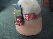 VINTAGE RARE 1998 GODZILLA MOVIE HAT CAP NEW YORK TOHO CO STRETCH SNAPBACK NWT