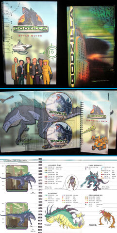 File:TRENDMASTERS 'Used' but Unreleased Animated Godzilla the Series (& Godzilla 1998 Movie) Style Guide.jpg
