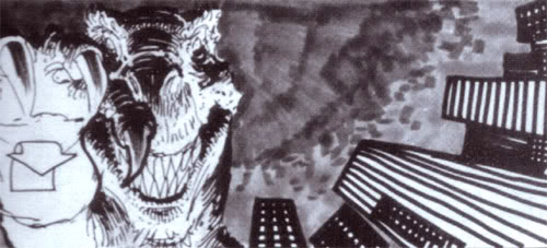 File:Story Boards for Steve Miner's proposed Godzilla film by William Stout.jpg