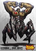 Kaiju combat exterminus by kaijusamurai-d5o3xzm