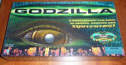 GODZILLA, 1998 M.Bradley, movie remake game, sealed new board game 0
