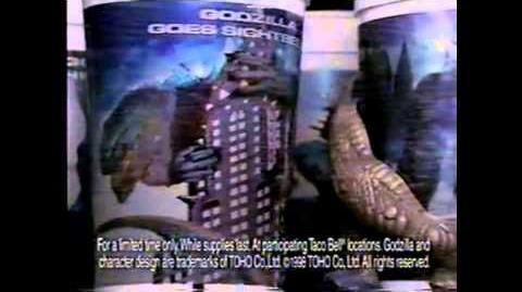 GODZILLA® (1998) - Taco Bell Commercial 4