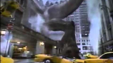GODZILLA® (1998) - Kodak Max Commercial
