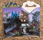 1998 Godzilla Movie Taco Bell Meal Box0