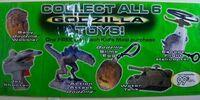 Taco Bell Godzilla Toys