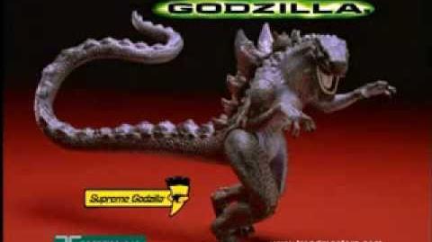 TRENDMASTERS Godzilla Babies & Supreme Godzilla TV Commercial