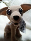 Yo Quiero Taco Bell Chihuahua Dog Toy Plush Here Lizard Lizard Godzilla 19984