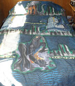 Vintage 1998 Godzilla Twin Comforter & 2 Pillow Cases0