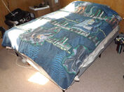 Vintage 1998 Godzilla Twin Comforter & 2 Pillow Cases1
