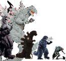 Godzilla size