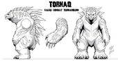 Tornaq model-sheet Turnaround by Matt Frank