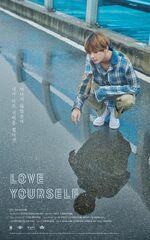V Love Yourself Teaser Poster