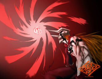 Full hollow ichigo about to shoot a cero by musashi2011-d4ok3lz