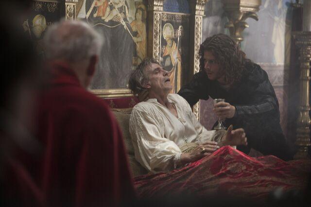File:017 The Face of Death episode still of Rodrigo Borgia and Cesare Borgia.jpg