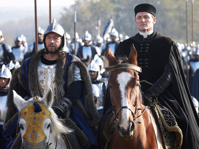 File:003 Nessuno (Nobody) episode still of Charles VIII and Giuliano Della Rovere.jpg
