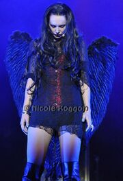 Violet as the black angel
