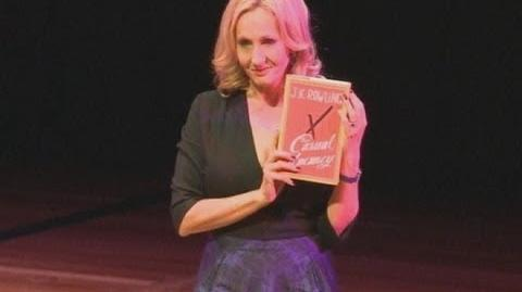 JK Rowling Q&A as she launches The Casual Vacancy
