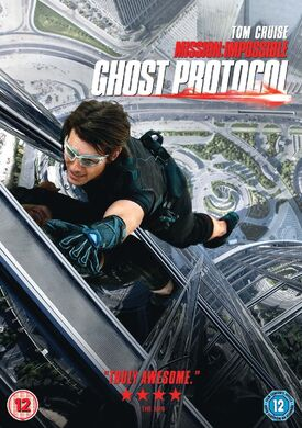 Ghost Protocol DVD