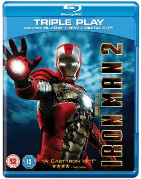 Iron man 2 blu-ray DVD digital copy