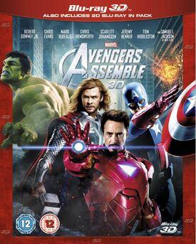 Avengers Assemble 3D Blu-ray 3D + Blu-ray