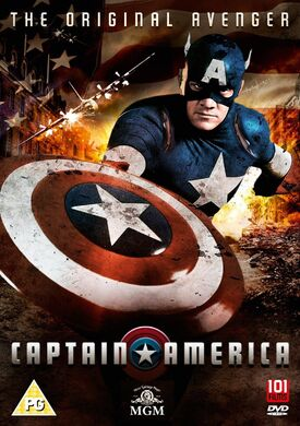 Captain America The Original Avenger DVD
