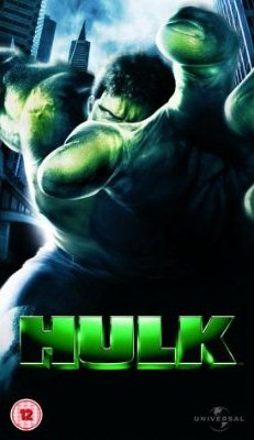Hulk VHS