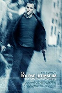 The Bourne ultimatum poster