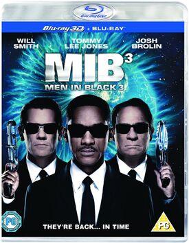 MIB3 Blu-ray 3D UV Copy