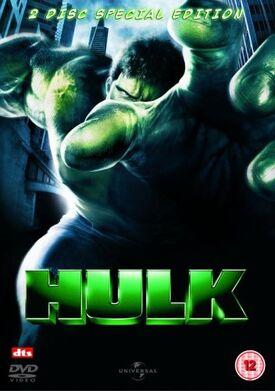 Hulk DVD 2 disc special edition