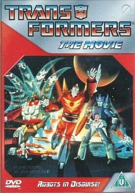 The Transformers The Movie DVD