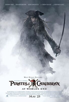 Pirates of the Caribbean At World's End poster