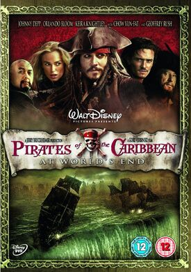 Pirates of the caribbean at worlds end DVD