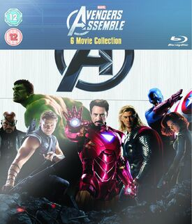 Avengers assemble 6 movie collection blu-ray