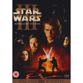 Star Wars III DVD