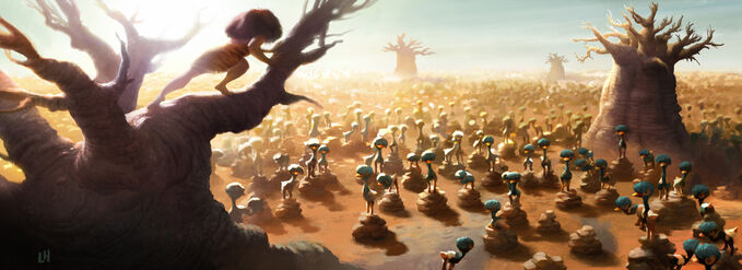 The Croods Art LH 24b