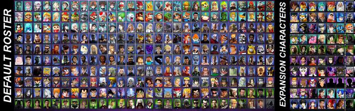 Full Crossover Roster