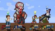 Crossover PSP Battle