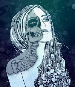 Hel the goddess of death