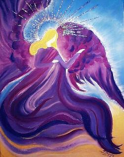 Zadkiel Angel of Mercy