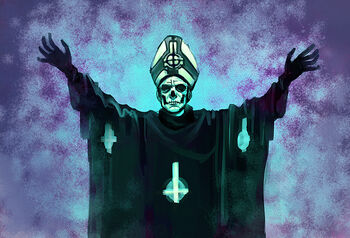 Papa emeritus ii by cryoclaire-d6cd3p4